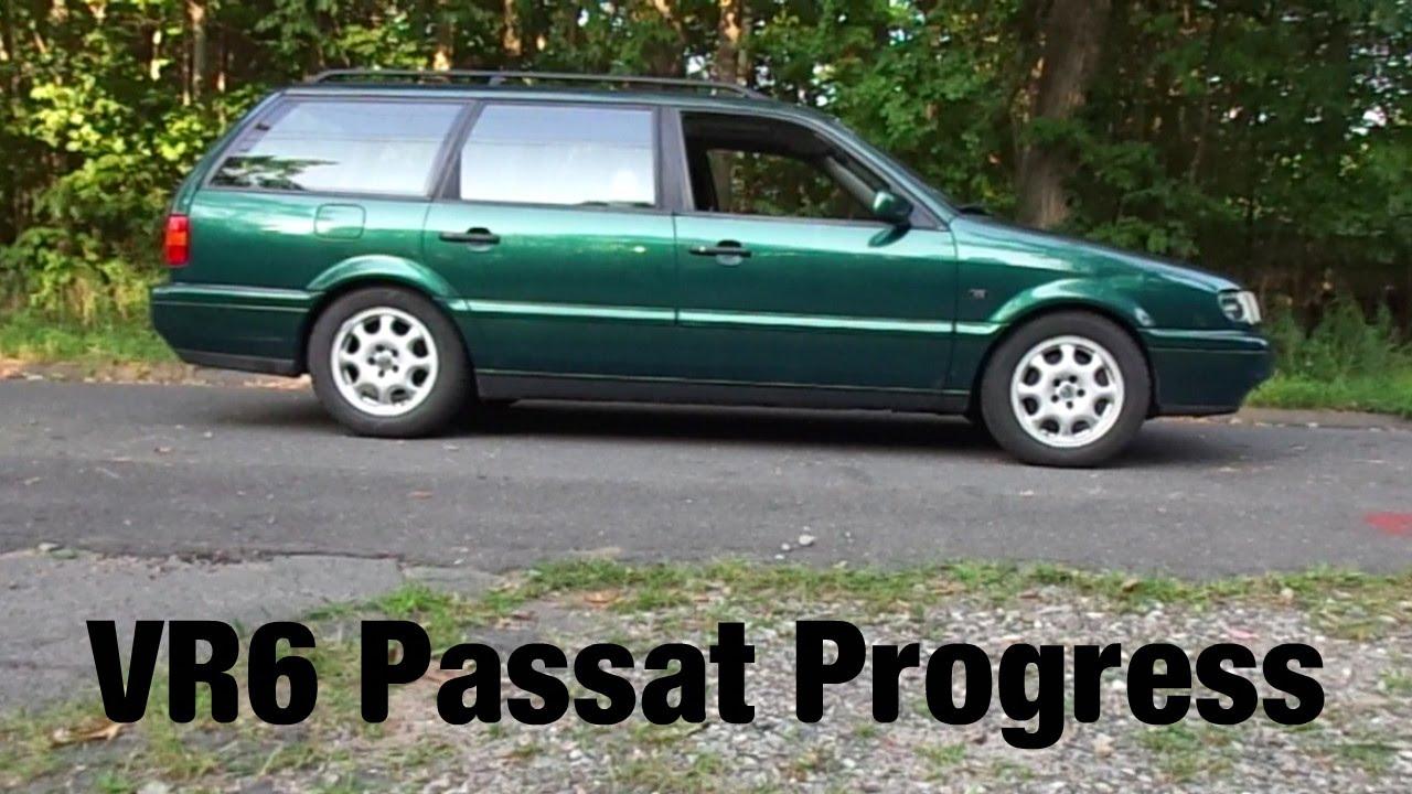 Lowered passat wagon