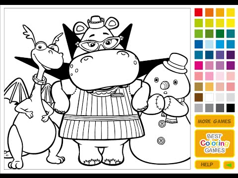 Free Doc Mcstuffins Coloring Pages For Kids - YouTube
