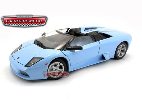 2004 Lamborghini Murcielago Roadster Azul Metalizado Bburago