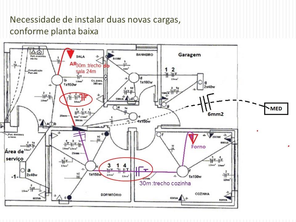 a-143 projeto el u00c9trico residencial c u00c1lculo de cargas novas em uma resid u00cancia
