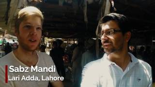 A German Tourist visits Lahore Pakistan