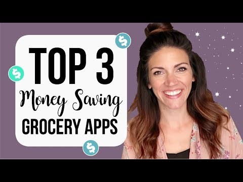 MY TOP 3 GROCERY APPS // How To Make Money From Grocery Shopping