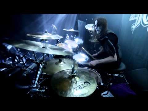 Nils Dominator Fjellström  Dark Funeral  The Dawn No More Rises Drumcam
