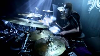 "Nils ""Dominator"" Fjellström - Dark Funeral - The Dawn No More Rises (Drumcam)"