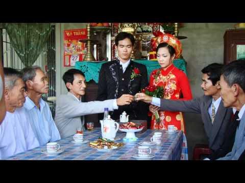 Hành trình đám cưới của nhà trai trên đất Tiền Giang.wmv