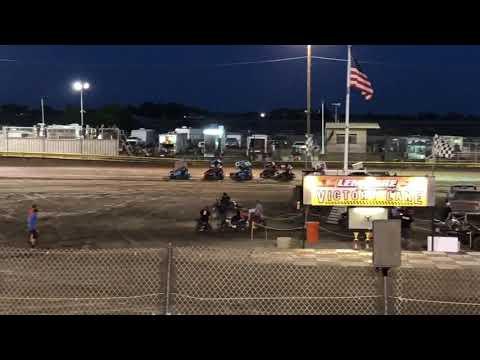 Lemoore Raceway 6/8/19 Jr Sprint Main- Cash