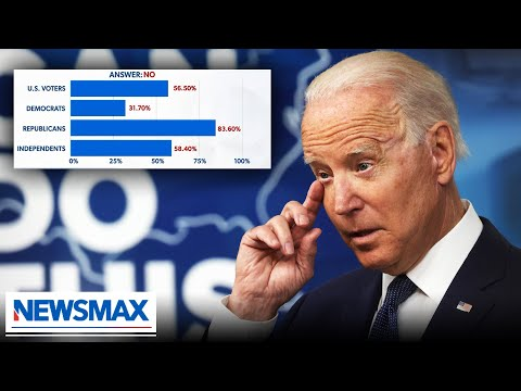 Poll shows most Americans believe Biden's not really in charge: Dave Rubin on Newsmax's Sp