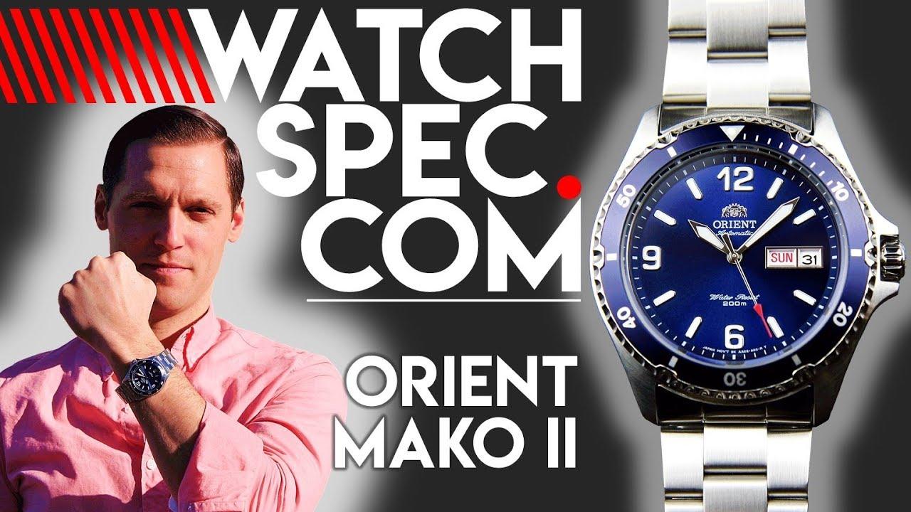 Orient Mako II // The Seiko SKX Killer??? - WATCHSPEC