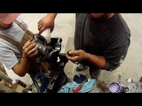 Swather Wobble Box Fix   Time-lapse