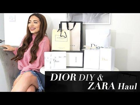 New Dior Bag- DIY, Zara Haul, Makeup & Desenio Home Decor Ideas