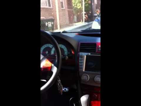 Toyota camry wood dashkit