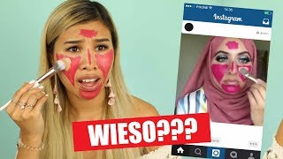 NUR CLICKBAIT?! 🤬INSTAGRAM Beauty Hacks im LIVE TEST! l Kisu