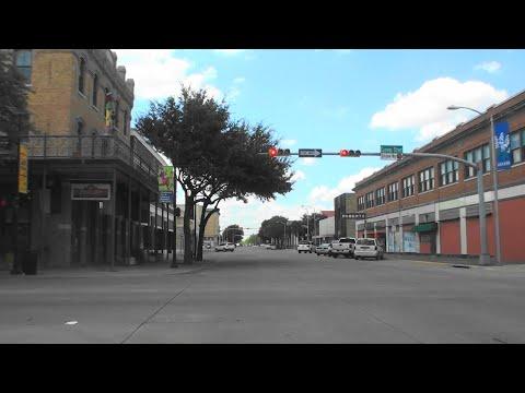DOWNTOWN ABILENE, TEXAS, USA