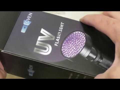 Gven Uv Flashlight Best Led Ultra Violet Blacklight For