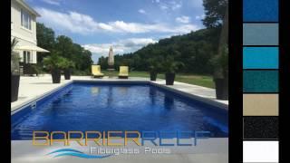 Fiberglass Swimming Pool Colors by Barrier Reef Fiberglass Pools