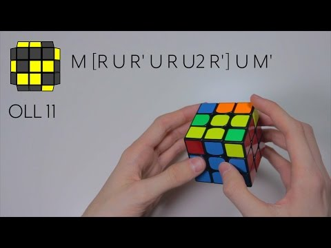 All 57 Rubik's Cube OLL Algorithms + Fingertricks