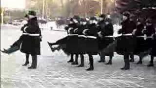 Desfile militar en Irkutsk, Siberia