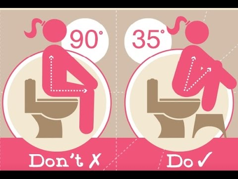 Toilet squat stool treat constipation hemorrhoids with - How to use the bathroom when constipated ...
