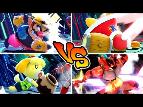 Super Smash Bros. Ultimate - Who has the Strongest Dash Attack? thumbnail