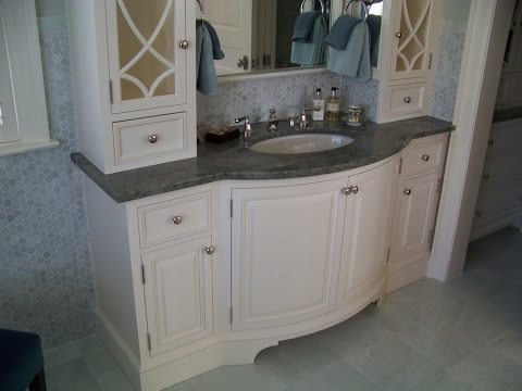 Curved Front Bathroom Vanity