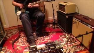 Ambient Guitar Strymon Timeline Looping and Ditto Looper Song 8 - On Mountains