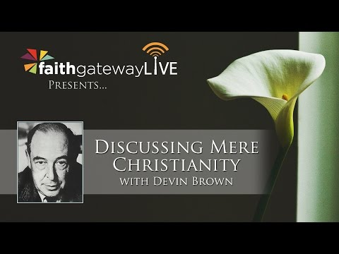 LIVE Author Chat With Devin Brown - Discussing Mere Christianity