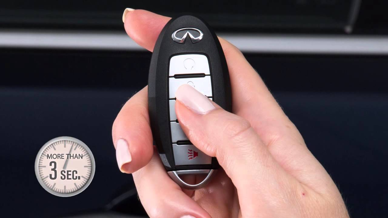 2015 INFINITI QX80 - Intelligent Key and Locking Functions