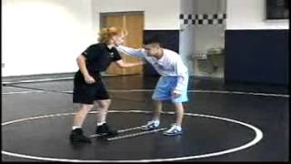 Tricia Saunders Wrestling Training: Scoring from the Feet