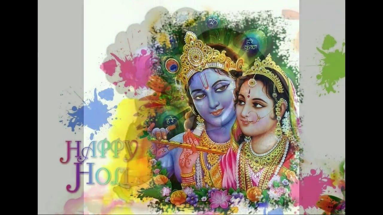 Happy holi radha krishna images - Happy Holi Wishes Greetings Messages Images Holi Whatsapp Video Krishna Radha Wallpapers