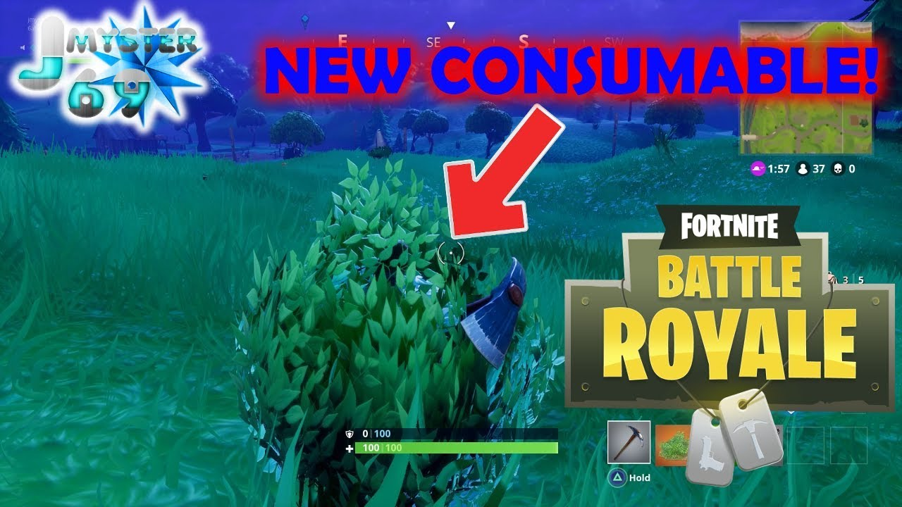The new 'Bush' Consumable in Fortnite Battle Royale ...