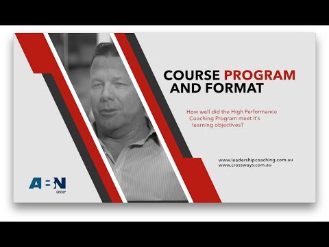 Course Program and Format