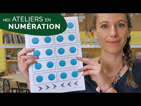 MES ATELIERS DE NUMÉRATION DANS MA CLASSE DE CE1-CE2 [VLOG 27]