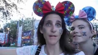 Disney's Halloween Party 2018!! We meet Famous Vloggers!!! Magic Kingdom!
