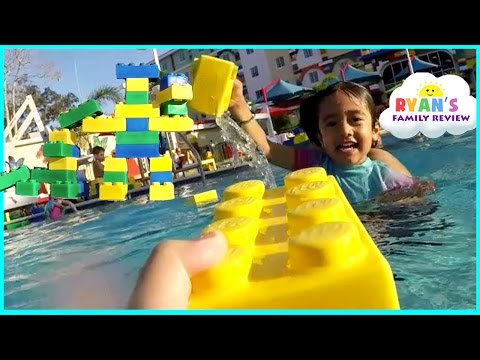 Thumbnail: LegoLand Hotel Swimming Pool Tour! Kids Playtime at the Pool Family Fun Vacation