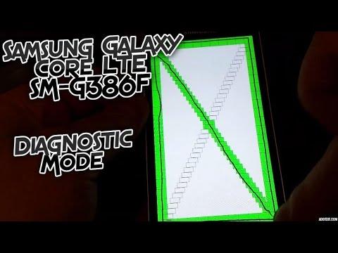 Samsung Galaxy Core LTE SM-G386F Diagnostic Mode