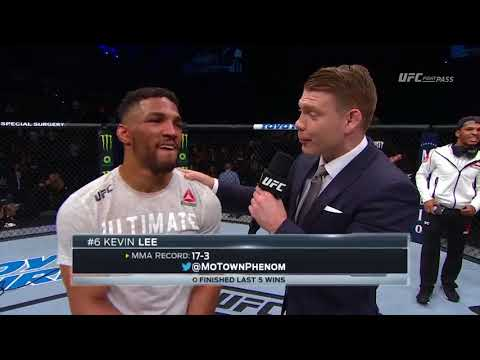 Fight Night Atlantic City: Kevin Lee Octagon Interview
