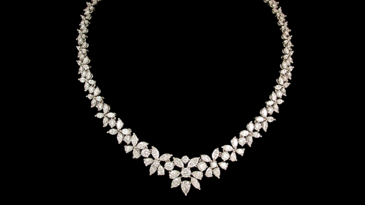The most beautiful Diamond necklaces in the world - YouTube