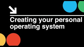 Startup CEO: Creating Your Personal Operating System