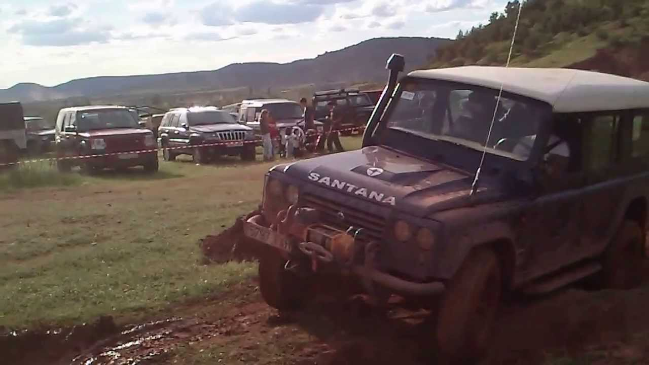 x nacinal club land rover tt españa- alcaraz 2013 - youtube
