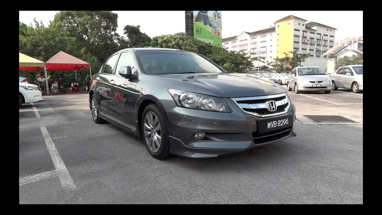 2011 Honda Accord 2 4 Start Up And Full Vehicle Tour Youtube
