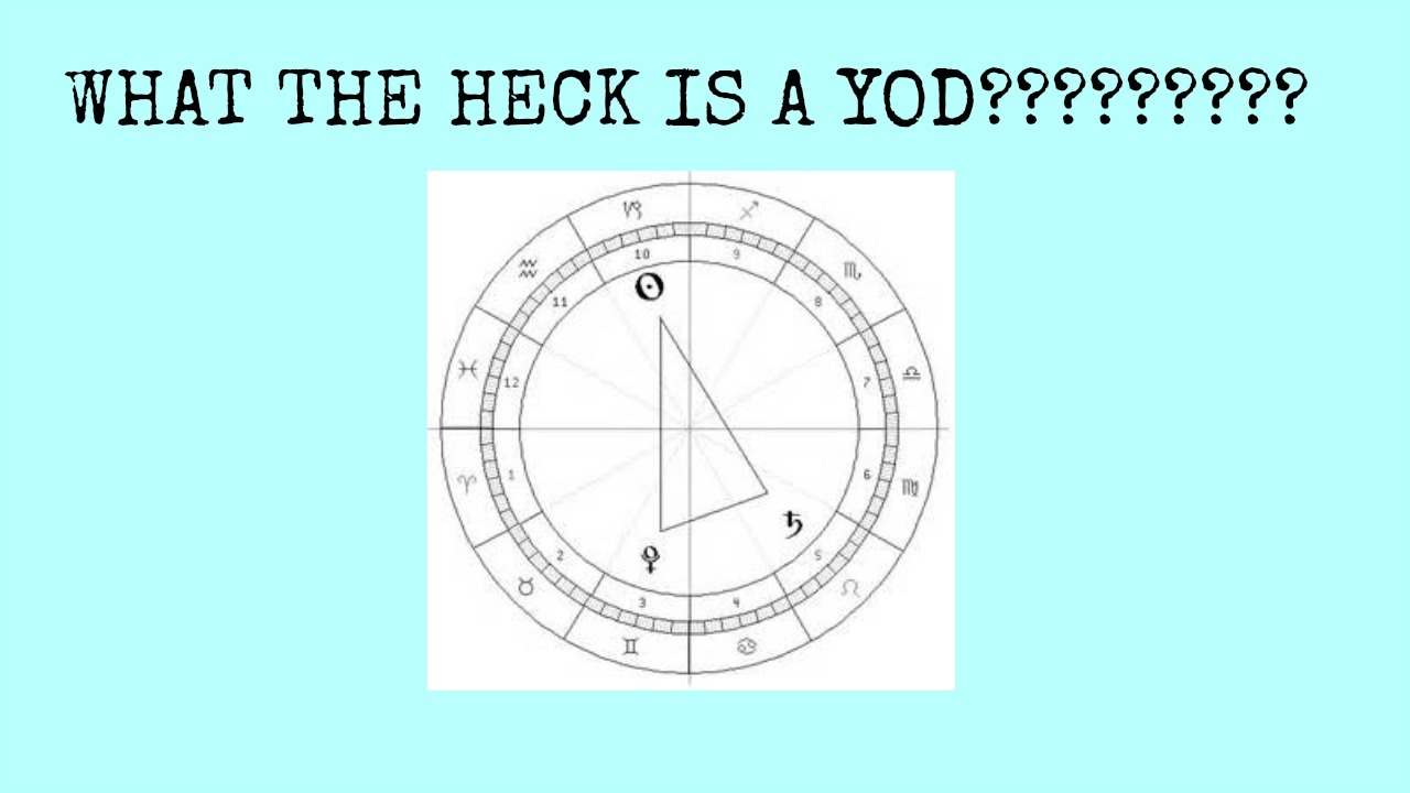 WHAT THE HECK IS A YOD?????????
