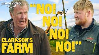 Jeremy and Kaleb Struggle to Put Up an Owl Box | Clarkson's Farm | Prime Video