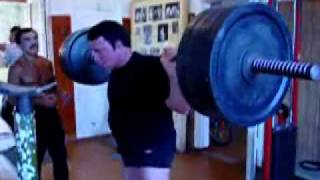 Видео Кашпировский 71 год присед 180 кг   Сайт для бодибилдеров  атлетов  пауэрлифтеров
