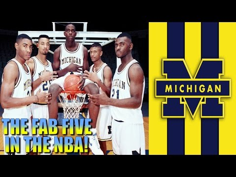What if The Michigan Wolverine FAB 5 Played In The NBA?