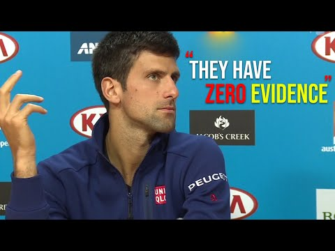 The day Novak Djokovic got accused of match fixing