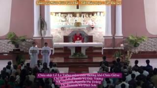 Hát bài Thương Khó Chúa Giêsu theo Thánh Matthêô (Lễ Lá 2017 - GX Tân hà - GH Bảo lộc - GP Đà lạt)