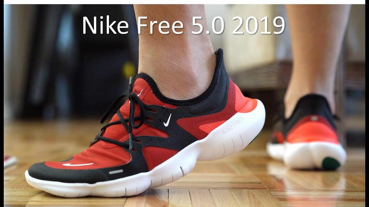 Nike Free RN 5.0 Review/On-Feet - YouTube