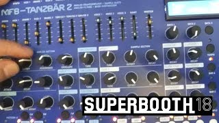 MFB Tanzbar 2: драм-машина для аутентичного техно! (Superbooth 2018)