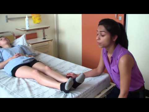 Knee examination - orthopaedic teaching video Cape Town