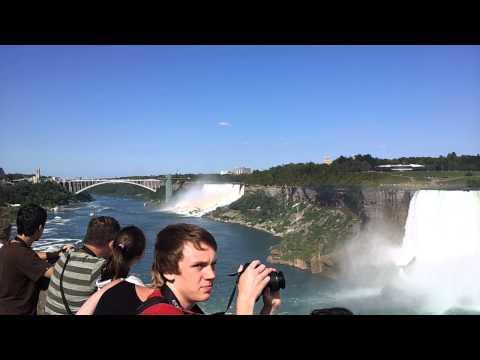 Canadian Niagara Falls (Horse Shoe Falls) -Wow!